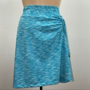 Freedom Trail Athleisure Skirt w Ruching, Size S
